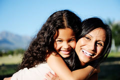 Mother love daughter Royalty Free Stock Photos