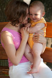 Mother loves her baby Stock Photo