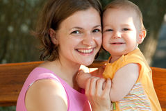 Mother loves her baby Royalty Free Stock Image