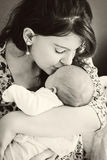 Mother Loving Her Baby Royalty Free Stock Images