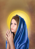 Mother Maria Portrait. Royalty Free Stock Images
