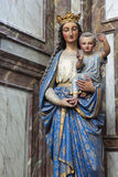 Mother Mary with Child Stock Photography