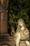 Mother Mary Christianity Religion in Nature Royalty Free Stock Photography