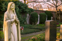 Mother Mary Christianity Religion in Nature Royalty Free Stock Image