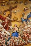 Mother Mary and the Holy Trinity Royalty Free Stock Images