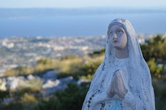 Mother Mary ( Jesus ) statue church religion Christianity Stock Photo
