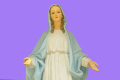 Mother Mary. Sculpture of the Mother Mary Stock Photography
