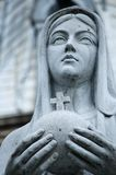 Mother Mary statue Stock Photo
