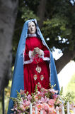 Mother Mary statue Royalty Free Stock Photos