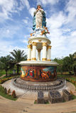 Mother Mary Statue. The Tallest Mother Mary Statue in Java Royalty Free Stock Photos