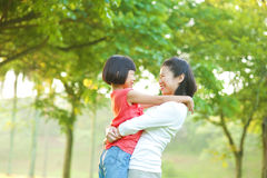 Mother and me Stock Images