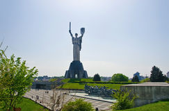 Mother Motherland in Kiev Stock Photography