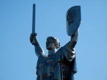 Mother Motherland monument in Kiev Stock Photo
