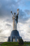 Mother of the Motherland monument in Kiev, Ukraine Stock Image