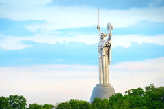 Mother Motherland monument. Kiev, Ukraine Stock Photography