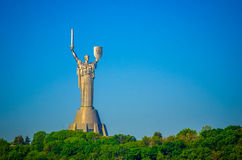 Mother of the Motherland monument Stock Photography