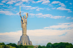 Mother of the Motherland monument Royalty Free Stock Photography