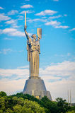 Mother of the Motherland monument Royalty Free Stock Photo