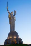 Mother Motherland at night Stock Images