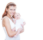 Mother and newborn baby Royalty Free Stock Photos