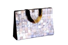 Mother Of Pearl Hand Bag Stock Photography