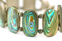 Mother of pearl bracelet Stock Photo