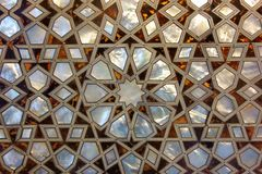 Mother of Pearl Mosaic from Istanbul Royalty Free Stock Image
