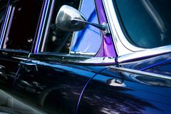 Mother of pearl retro car Royalty Free Stock Photo