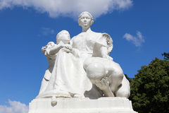 The `Mother Philippines` statue at the Rizal Park Royalty Free Stock Photography