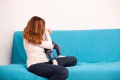 mother playing son together Στοκ Φωτογραφίες