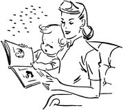 Mother Reading To Baby Stock Image