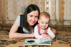 Free Mother Reading To Daughter Stock Photo - 23903580