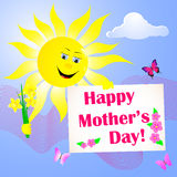 Mother's Day. Royalty Free Stock Images