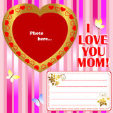 Mother's Day. Royalty Free Stock Photography