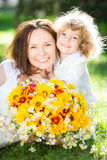 Mother`s day stock image