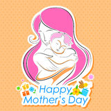 Mother's Day Backgroud Royalty Free Stock Photography