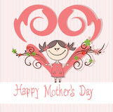 Mother's Day background Stock Image
