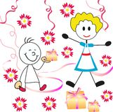Mother's day background Royalty Free Stock Image