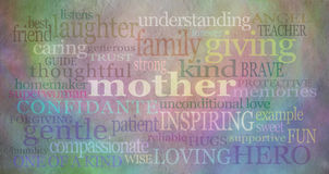 Mother's day background banner Stock Image