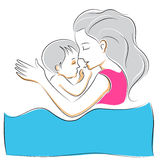 Mother's Day Background Stock Photography