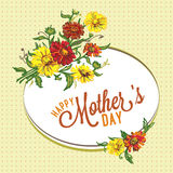 Mother's day background Royalty Free Stock Images