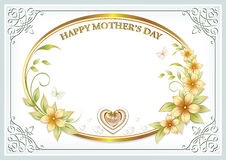 Mother`s Day background Royalty Free Stock Images