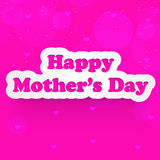 Mother`s Day background Stock Image