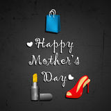 Mother`s Day background Stock Images