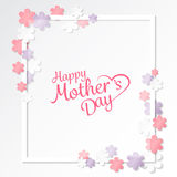 Mother's day background. vector Stock Images