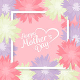 Mother's day background. vector Stock Image