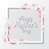 Mother's day background. vector stock illustration