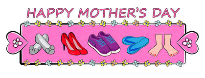 Mother's Day Banner Stock Photo