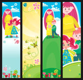 Mother's day banners stock illustration