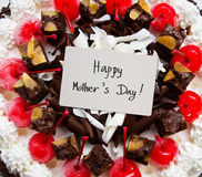 Mother's day cake Stock Images